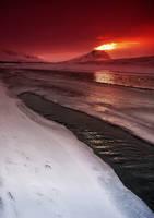 Iceland - Volcano on Iceland. by PatiMakowska