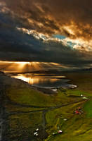 Iceland .-. before the storm by PatiMakowska