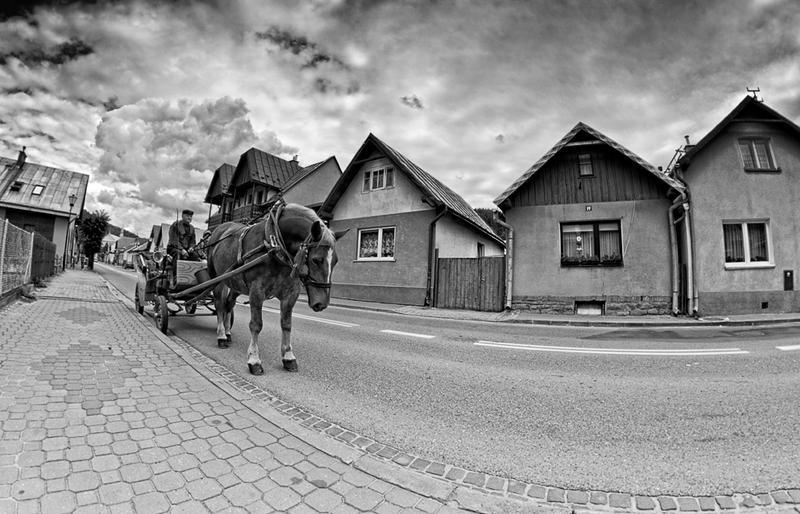 Poland - Muszyna city by PatiMakowska