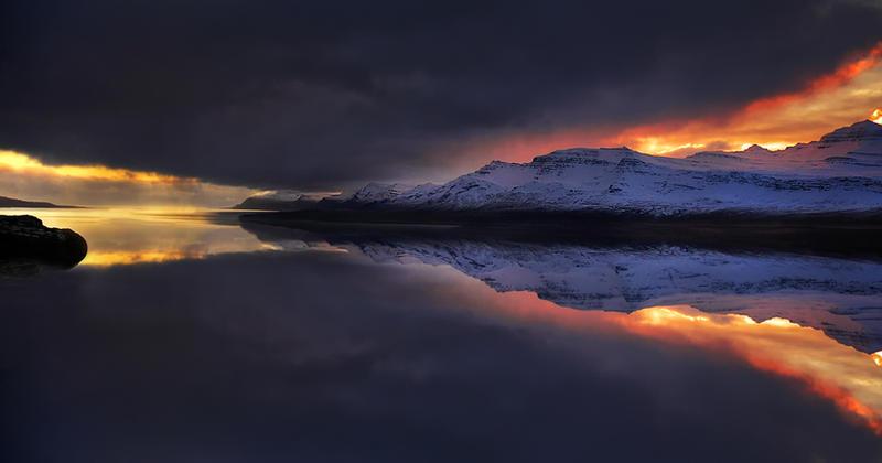 Iceland - like a mirror