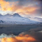 Iceland - The tale fjord by PatiMakowska