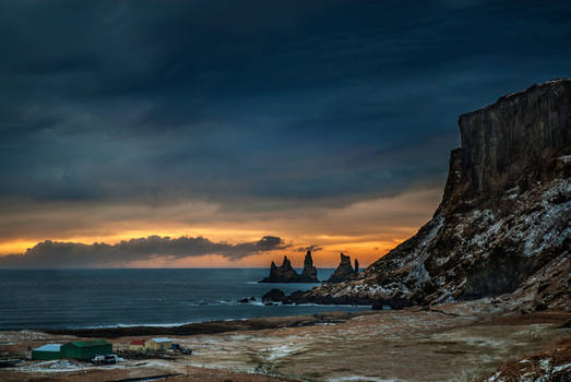 Iceland - Reynisdrangar and claws of the witch
