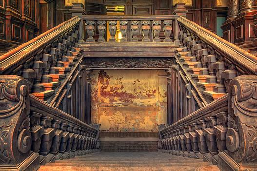 The entrance to Hogwarts