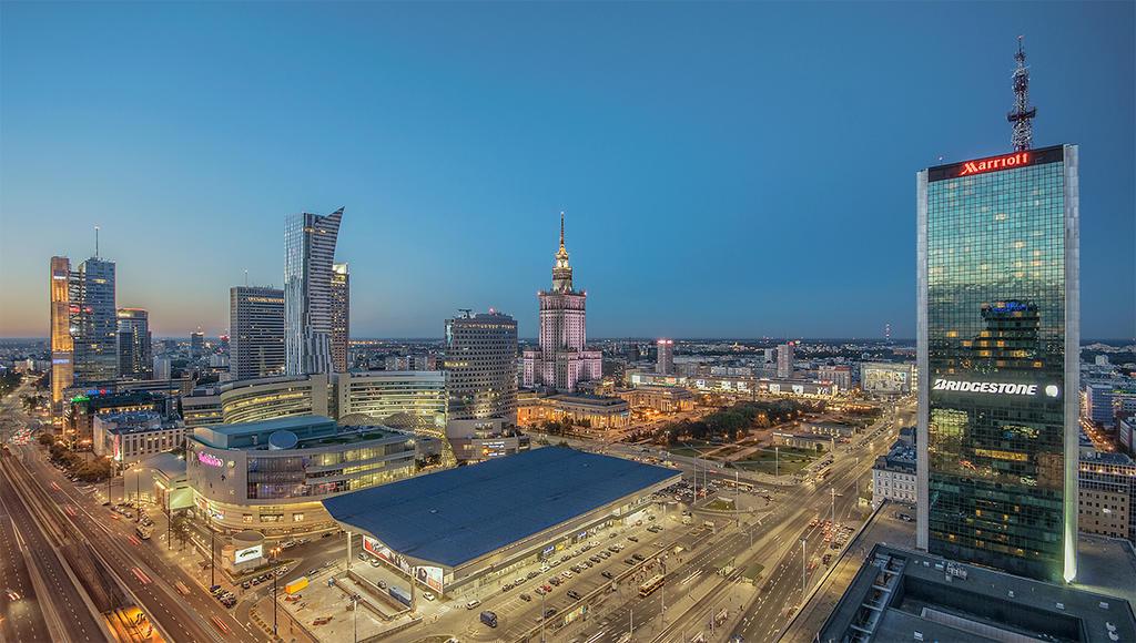 Warsaw by evening by PatiMakowska