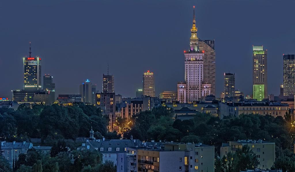 Warsaw by evening II by PatiMakowska