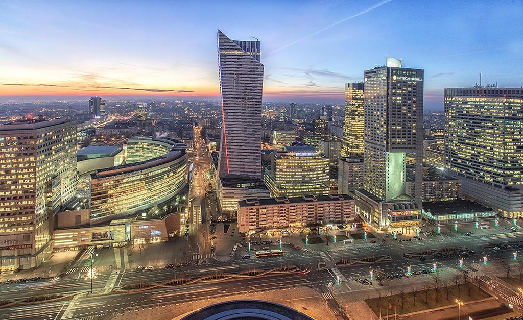 Warsaw by evening III by PatiMakowska