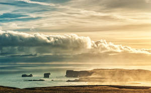 in the other side of cliff - Iceland 2015 by PatiMakowska