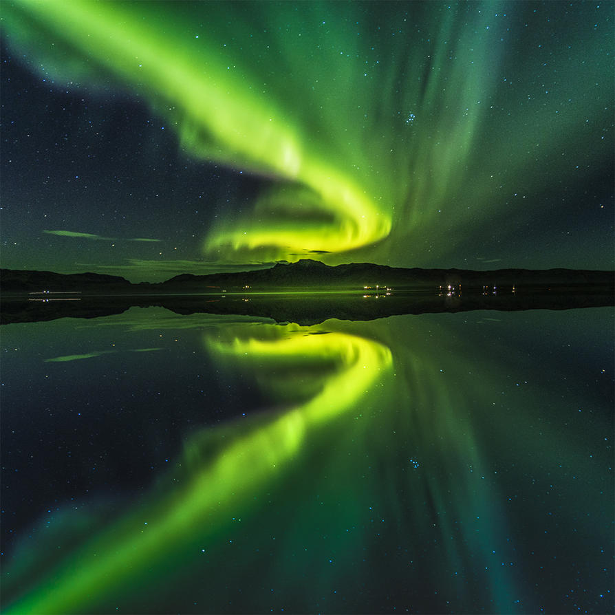 Freja, other name of Northen Lights by PatiMakowska