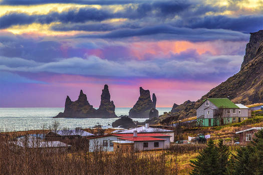 Iceland - A few days earlier in Vik