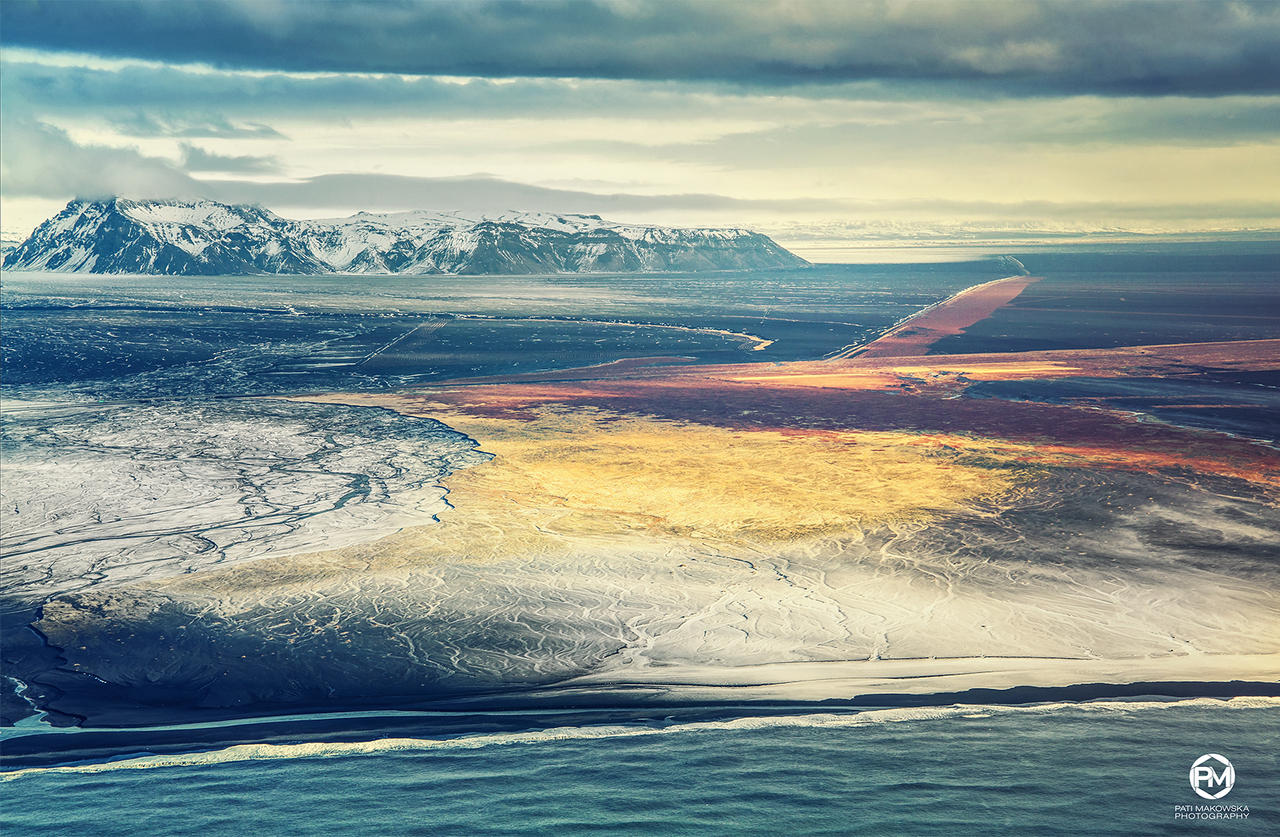 From the space - Iceland 2017 by PatiMakowska