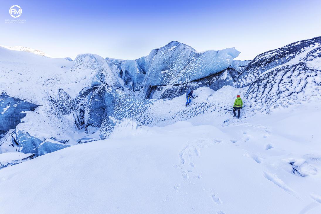 Viking at work on the glacierII by PatiMakowska