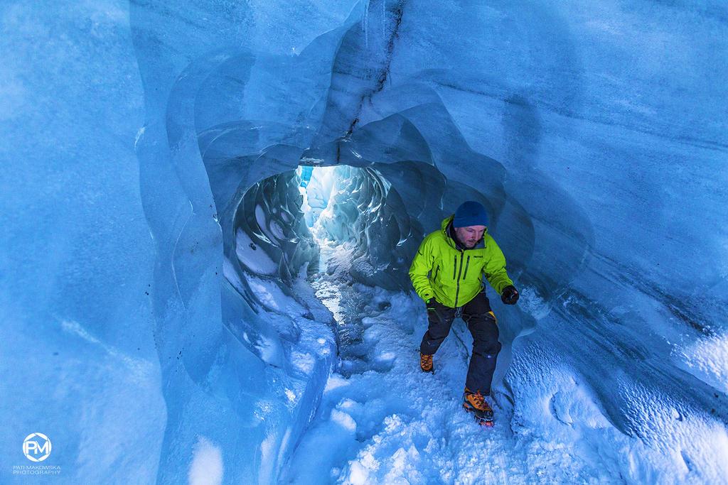Viking at work on the glacier III by PatiMakowska