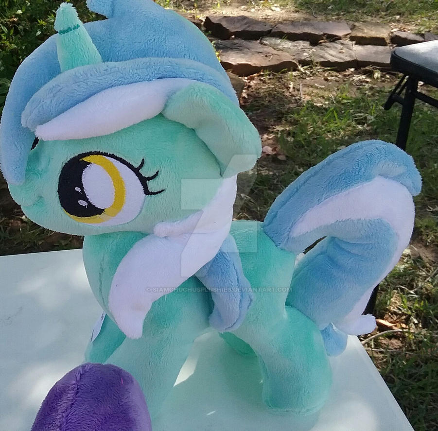 Lyra Heartstrings plushie  filly by SiamchuchusPlushies
