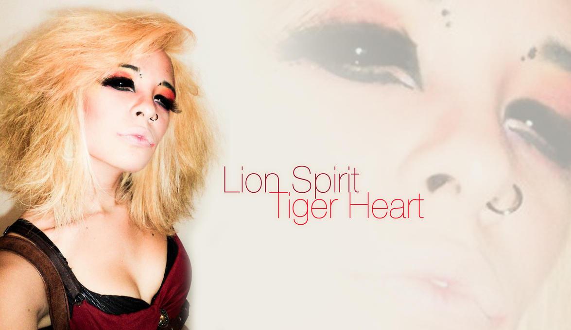 Lion Spirit, Tiger Heart by FabiiKawaii