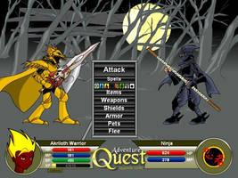 Dragon Slayer Vs Ninja