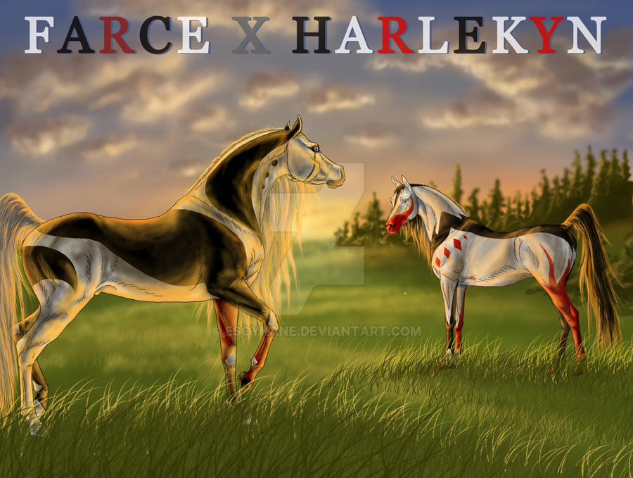 Dls farce x harlekyn ox by escykane on deviantart for Farcical characters