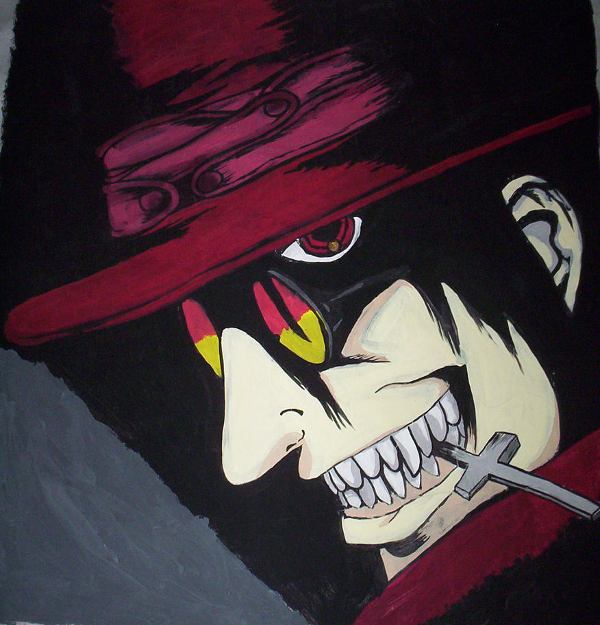 alucard painting by Bleedinglioness