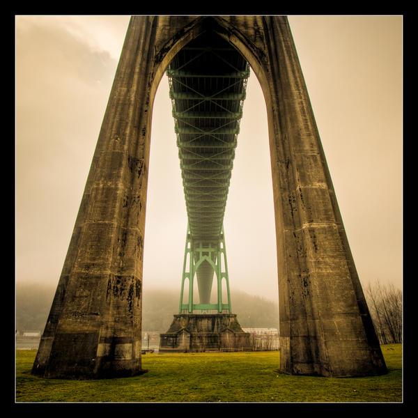 Bridge Underside by futureplug