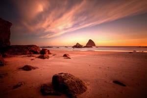 Beach on Fire by futureplug