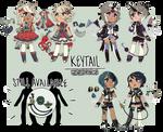 (CS) Keytails | Mystery Customs | CLOSED