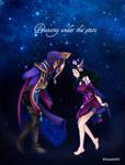 Dancing under the stars - Jhin x Nami