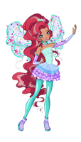 Cosmix Fairy of Waves! by AndromedaFairy
