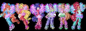 Winx Cosmix Fairies