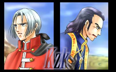 Brotherly Love  DQ8 by kazuki3