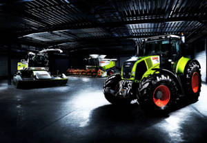 Claas Axion not alone