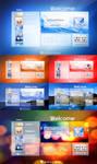 Windows 8 concept Logon