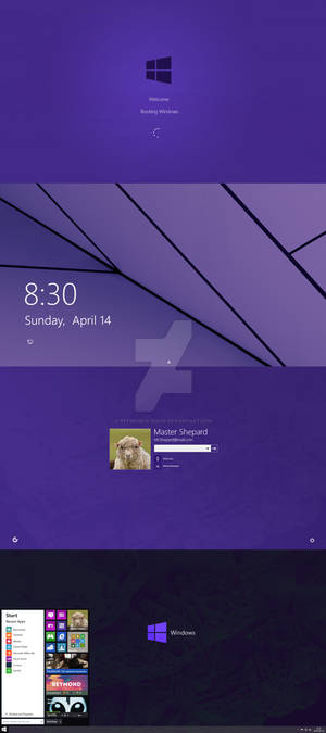 Windows 9 Redesign/Concept (2014)