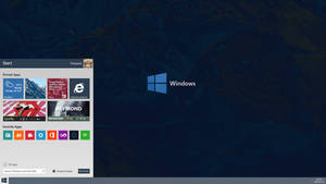 Windows 9 Redesign / Concept Menu