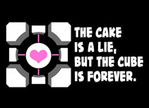 The cake is a lie, but not WCC by enrichmentcenter