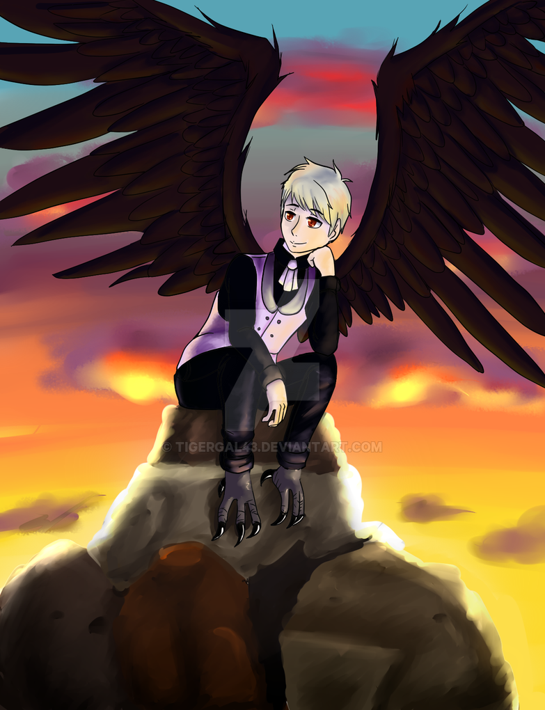 Crow Prussia by tigergal43