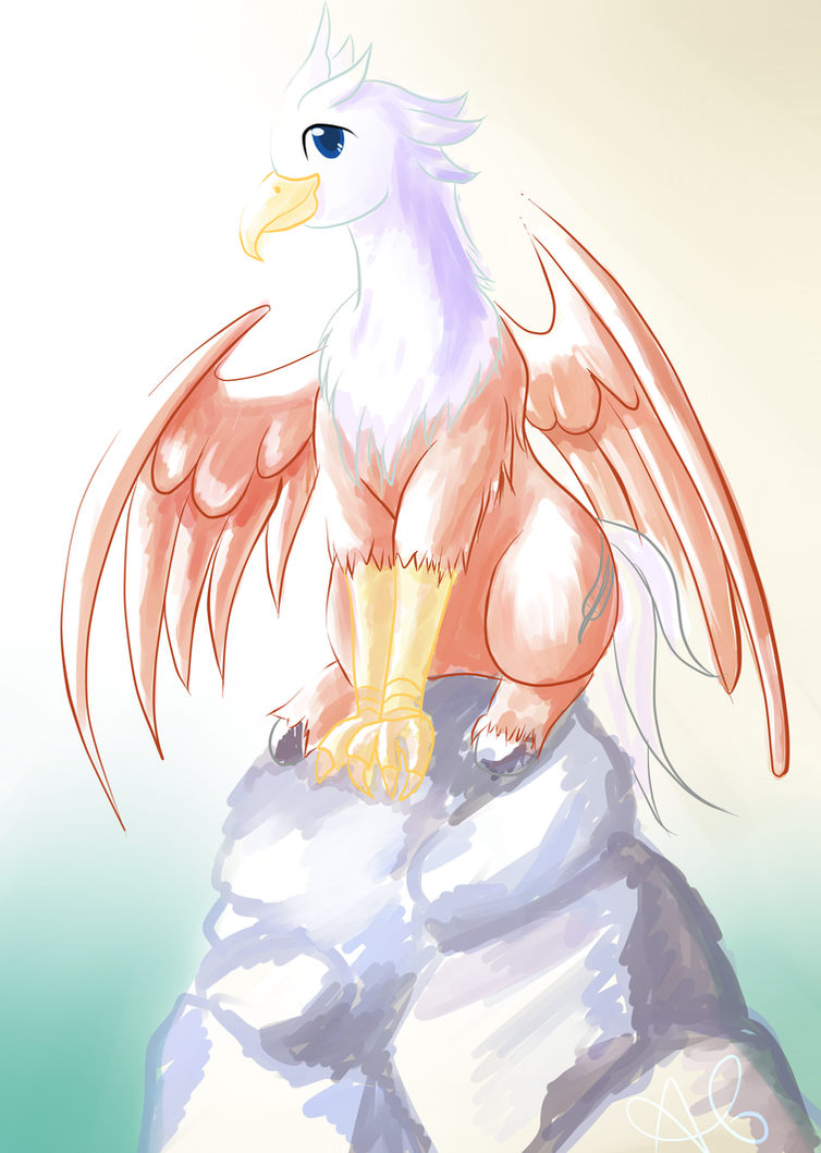 Silver Quill by tigergal43