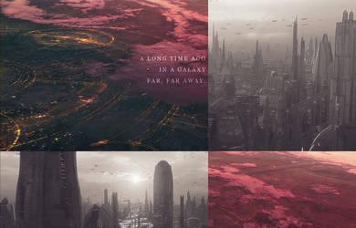 a long time ago in a galaxy far, far away. by lohir