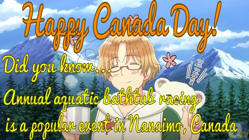 Happy Birthday APH Canada! by CrimsonShea