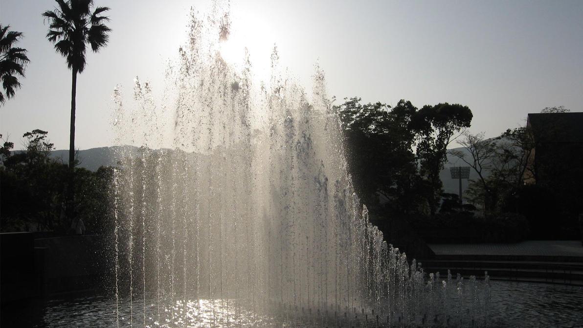 Peace Park Fountain by dharris001