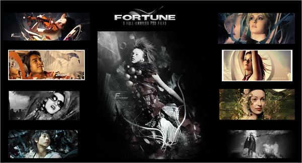 Fortune PSD pack Fortune_PSD_pack_1_by_FortuneGfx