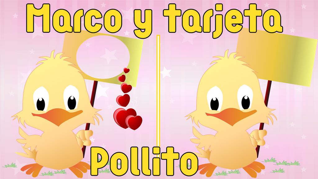 Marco tarjeta pollito by CreatyonsbyKiss on DeviantArt