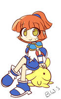 Arle and Carbuncle by BadassWithSass