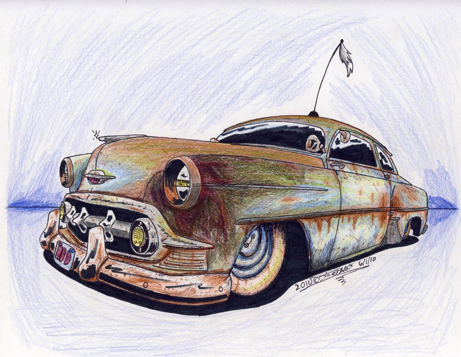 Rust Bucket By Sketchywolf-13 On DeviantArt