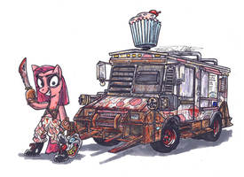 My Little Pony Friendships Is Twisted Metal