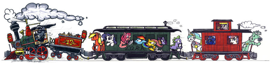 Manly Friendship Express by Sketchywolf-13