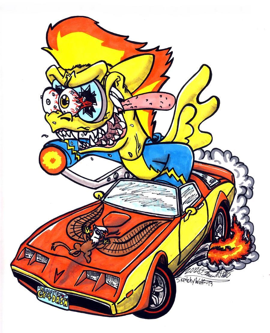 Image Result For Rat Fink Coloring