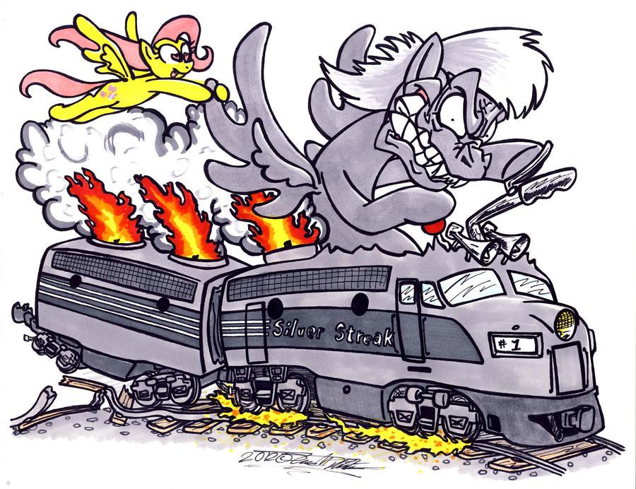 Silver Streak Fink by Sketchywolf-13