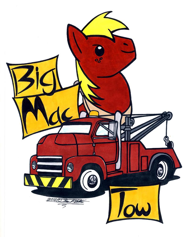 Big Mac Tow by Sketchywolf-13