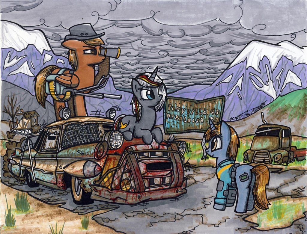 Fallout Equestria by Sketchywolf-13