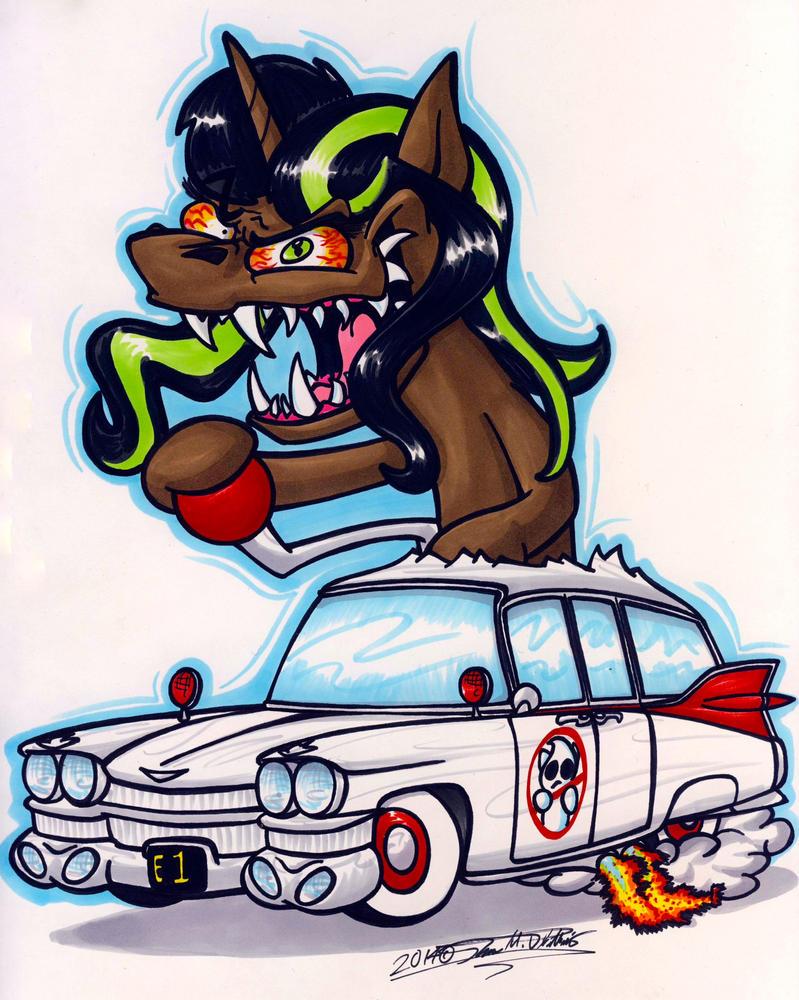 Who Ya Gonna Call? by Sketchywolf-13