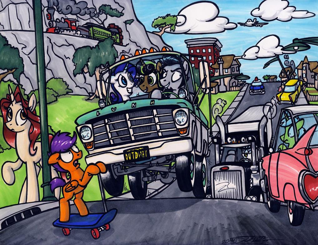 Joy Ride by Sketchywolf-13